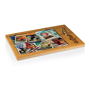 Picnic Time Army Icon Poster Collage Cutting Board