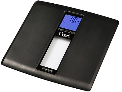 Ozeri WeightMaster II 440 lbs Digital Bath Scale w/ BMI and Weight Change Detection; Black