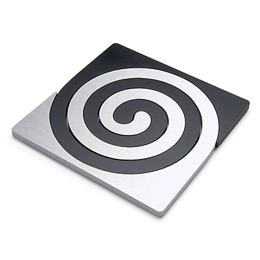 Scott Henderson Design 2 Piece Zebra Trivet Set