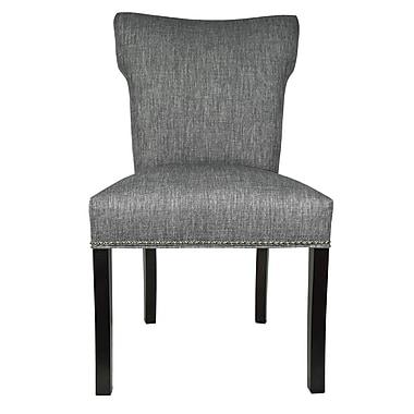 Sole Designs Key Largo Parsons Chair (Set of 2); Ash