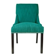 Sole Designs Lucky Arm Chair (Set of 2); Turquoise