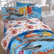 Disney Planes 85 Thread Count Flat Sheet Set