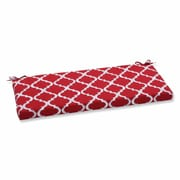 Pillow Perfect Kobette Outdoor Bench Cushion; Red