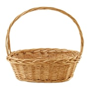 WaldImports Oval Thick Willow Basket