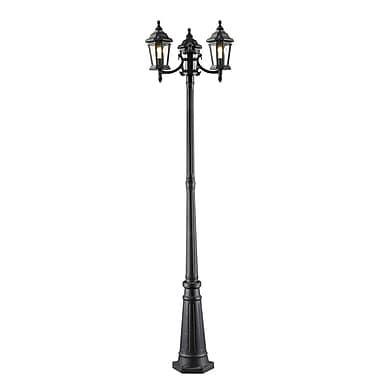 Z-Lite Melbourne 3-Light 82.5'' Post Light