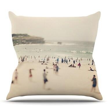 KESS InHouse Bondi Beach by Catherine McDonald Throw Pillow; 18'' H x 18'' W x 3'' D