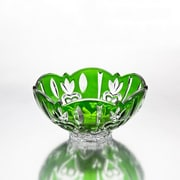 Studio Silversmiths Case Small Dish; Green