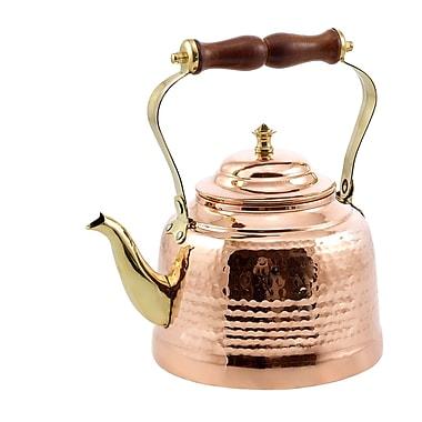 Old Dutch 2 Qt. Solid Hammered Tea Kettle