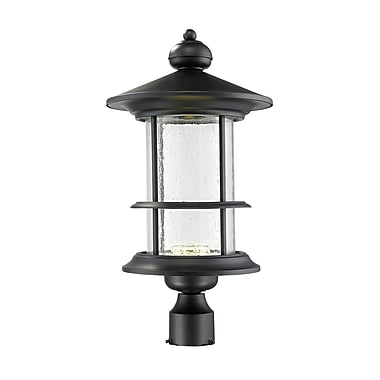 Z-Lite Genesis 18-Light LED Lantern Head; 21.75'' H x 11.63'' W x 11.63'' D