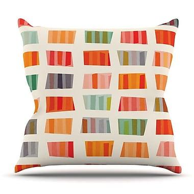 KESS InHouse Beach Towels by Daisy Beatrice Throw Pillow; 26'' H x 26'' W x 5'' D