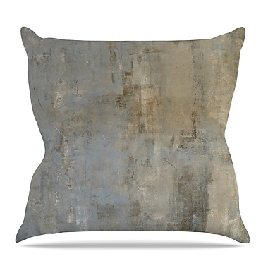 KESS InHouse Overlooked by CarolLynn Tice Throw Pillow; 16'' H x 16'' W x 3'' D