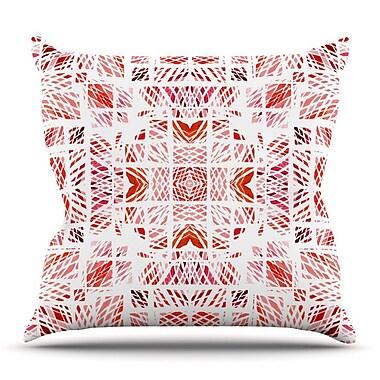 KESS InHouse Scandanavian Square by Danii Pollehn Throw Pillow; 20'' H x 20'' W x 4'' D