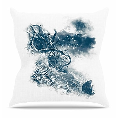 KESS InHouse No Escape by Frederic Levy-Hadida Throw Pillow; 16'' H x 16'' W x 3'' D