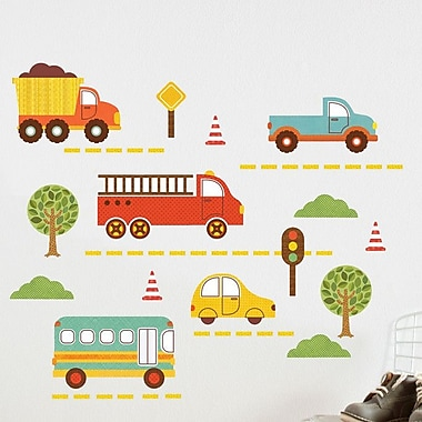 Petit Collage By Land Wall Decal