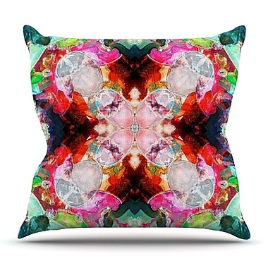 KESS InHouse Achat I by Danii Pollehn Throw Pillow; 20'' H x 20'' W x 4'' D
