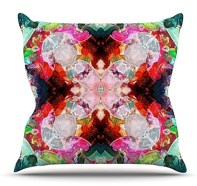 KESS InHouse Achat I by Danii Pollehn Throw Pillow; 26'' H x 26'' W x 5'' D