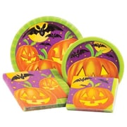 Creative Converting Pumpkin Shine 4 Piece Dinnerware Set (Set of 64)