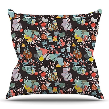 KESS InHouse At Home by Akwaflorell Throw Pillow; 20'' H x 20'' W x 4'' D