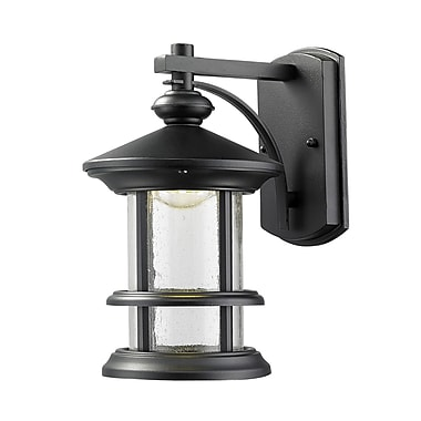 Z-Lite Genesis 18-Light Outdoor Wall Lantern; 10.13'' H x 6.13'' W x 7.63'' D