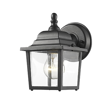 Z-Lite Waterdown 1-Light Outdoor Wall Lantern