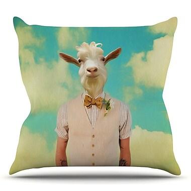 KESS InHouse Passenger 6F by Natt Throw Pillow; 16'' H x 16'' W x 3'' D