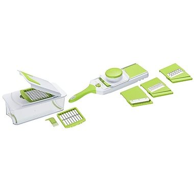 MImo Style Homegoods 10 Piece Multi-Blade Chopper and Adjustable Slicer Set