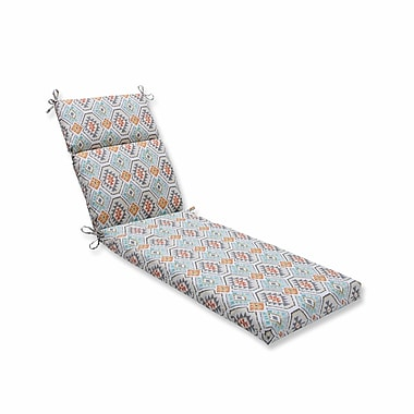 Pillow Perfect Eresha Oasis Outdoor Chaise Lounge Cushion