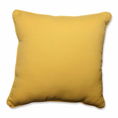 Pillow Perfect Forsyth Soleil Outdoor/Indoor Floor Pillow
