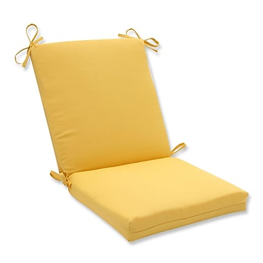Pillow Perfect Forsyth Soleil Outdoor Dining Chair Cushion