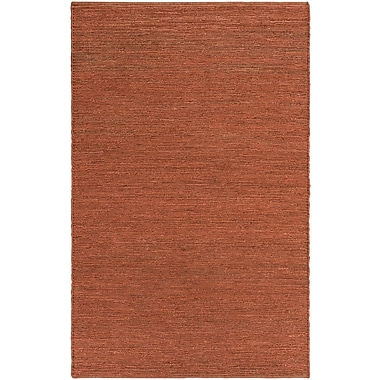 Artistic Weavers Purity Sydney Hand-Woven Brick Red Area Rug; Runner 2'3'' x 12'