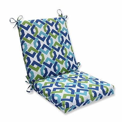 Pillow Perfect Reiser Outdoor Dining Chair Cushion; Lagoon