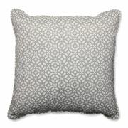 Pillow Perfect In the Frame Indoor/Outdoor Floor Pillow; Pebble