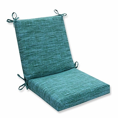 Pillow Perfect Remi Outdoor Dining Chair Cushion; Lagoon
