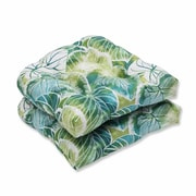 Pillow Perfect Key Cove Lagoon Outdoor Dining Chair Cushion (Set of 2)