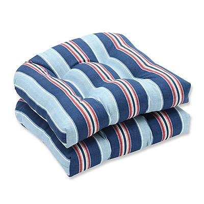 Pillow Perfect Kingston Outdoor Dining Chair Cushion (Set of 2)