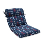 Pillow Perfect Anchor Allover Outdoor Dining Chair Cushion