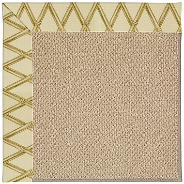 Capel Zoe Machine Tufted Bamboo Indoor/Outdoor Area Rug; Rectangle 5' x 8'