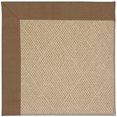 Capel Zoe Machine Tufted Brown Indoor/Outdoor Area Rug; Rectangle 4' x 6'