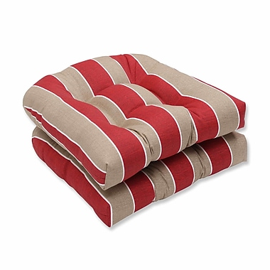 Pillow Perfect Wickenburg Outdoor Dining Chair Cushion (Set of 2)