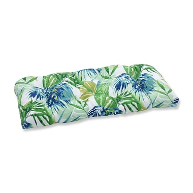 Pillow Perfect Soleil Outdoor Love Seat Cushion