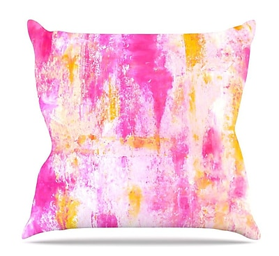 KESS InHouse Fancy by CarolLynn Tice Throw Pillow; 16'' H x 16'' W x 3'' D