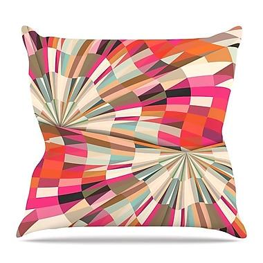 KESS InHouse Convoke by Danny Ivan Throw Pillow; 18'' H x 18'' W x 3'' D