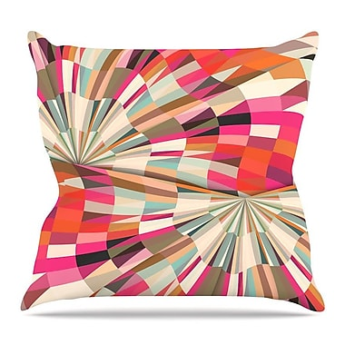 KESS InHouse Convoke by Danny Ivan Throw Pillow; 26'' H x 26'' W x 5'' D