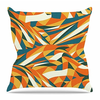 KESS InHouse Astro Naive by Danny Ivan Throw Pillow; 16'' H x 16'' W x 3'' D