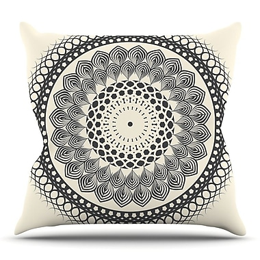 KESS InHouse Boho Mandala by Famenxt Throw Pillow; 18'' H x 18'' W x 3'' D
