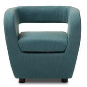 Wholesale Interiors Baxton Studio Ramon Barrel Chair; Blue