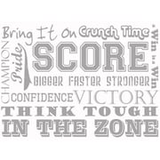 Borders Unlimited Sports Phrases Wall Decal