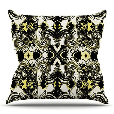 KESS InHouse The Palace Walls II by Dawid Roc Throw Pillow; 26'' H x 26'' W x 5'' D
