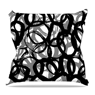 KESS InHouse Rhythm by Emine Ortega Throw Pillow; 18'' H x 18'' W x 3'' D