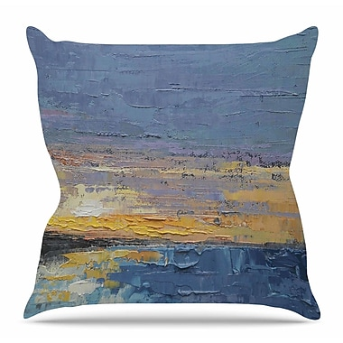 KESS InHouse Caribbean Sunset by Carol Schiff Throw Pillow; 26'' H x 26'' W x 5'' D